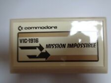 COMMODORE VC-20 / VIC-20 --> MISSION IMPOSSIBLE (VIC-1916) / CARTRIDGE