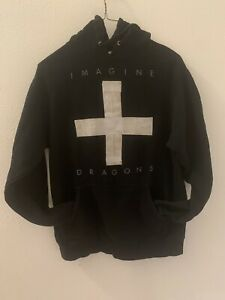 Imagine Dragons Band Pullover Hoodie Cross Size Small Pullover