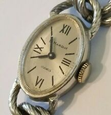 Vintage Ladies La Marque 17 Jewels Winding Watch Bracelet - Working