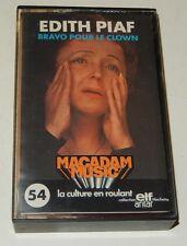 Cassette Audio Edith PIAF Bravo pour le Clown - Collection ELF ANTAR Vintage 70'