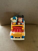 Mickey Mouse and Donald Duck car toy by Illco battery op