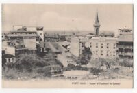 Port Said Square Of Ferdinand De Lesseps Egypt Vintage Postcard 940b