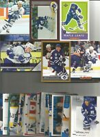 1990-2006 TORONTO MAPLE LEAFS HOCKEY 175+  CARD LOT