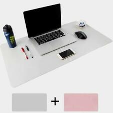 Waterproof Anti-slip Leather Blotters Pad Protector Desk Mouse Pads Mats Pink