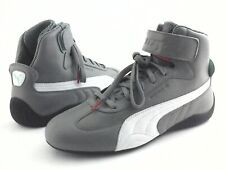 Extremely Rare PUMA PORSCHE Turbo Sneakers PL Speedcat Mid Gray Men's US 9 EU 42