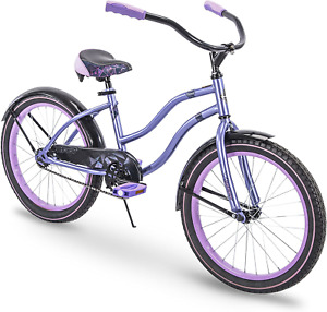 "Huffy 20"" Girls Cruiser Bike Comfortable Classic Cruiser Frame - Lavender NEW"