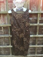 Ladies Leopard Print Wiggle Dress. Brand New With Tags. Size 12.