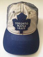 Reebok NFL Toronto Maple Leafs Fitted Baseball Hat Cap SZ 7- 7 1/4 Blue
