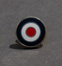 RAF ROUNDEL - MOD - TARGET PIN BADGE - GOLD     (M37B)