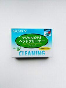 SONY Mini DV Head Cleaner DVM4CLD2 Cleaning Cassette JAPAN Import