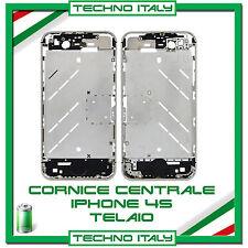TELAIO CENTRALE COMPLETO PER IPHONE 4S CORNICE METALLO MIDDLE BOARD 4S FRAME