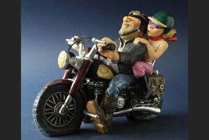 PROFISTI Pro46 Biker / Motorradfahrer mit Frau / Höhe ca. 14 cm