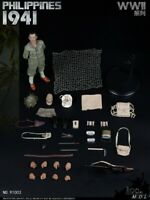 IQO Model 1/6 91003 Japanese Army WWII 1941 Battle of Philippines Action Figure