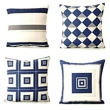 "4-Pack Geometric print Throw couch Pillow Cover 18x18"",Home Decor Outdoor patio"