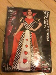 Wicked Costumes - Fairytale Queen Of Hearts M (14-16)