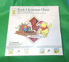 Classic  Winnie the Pooh Rubber stamp set Christmas Cheer All Night Media New
