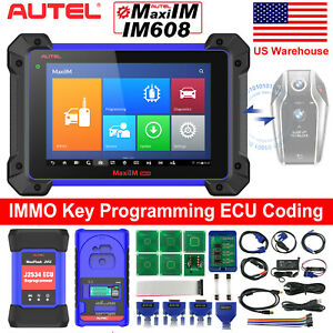 2021 Autel MaxiIM IM608 IM508 OBD2 Diagnostic Tool Scanner IMMO Key Programming
