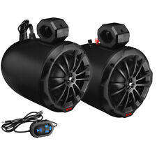 "Boss Marine Audio®  8"" 2-Way Amplified Waketower Speakers w/Bluetooth Controller"