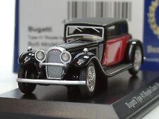 Bos Bugatti, tipo 41 Royale by weymann, negro-rojo - 87331 - 1:87