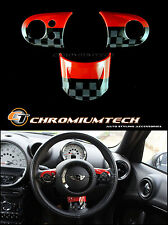 MINI Cooper/S/ONE JCW Style MF Steering Wheel Cover R56 R57 Convertible R55 NEW!