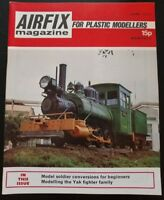 Airfix Magazine for Plastic Modellers June 1972 Solider Conversions Yak Fighter