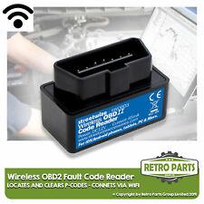 Kabellos OBD2 Code Lesegerät für Fiat. Scanner Diagnose Motor Licht