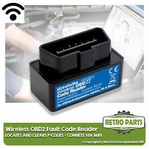 Kabellos OBD2 Code Lesegerät Für Fiat. Scanner Diagnose Motor Light