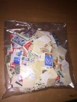 Worldwide Stamps. Mixed lot of 1500+ stamps, used paper stamps. Vintage/modern