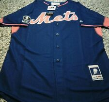 2014 Majestic New York Mets David Wright BP Game Model Jersey Size 44 FC Kiner