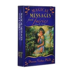 Magical Messages from the Fairies Oracle Cards Board Game 44 Cards Deck Tarot