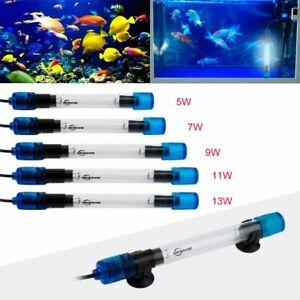 Uv Aquarium Sterilizer Fish Tank Submersible Ultraviolet Light Clean Water Algae