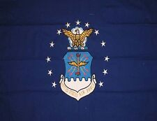 AIr Force 3x5 3'x5' EMBROIDERED COTTON 2 Sided United States Air Force Flag