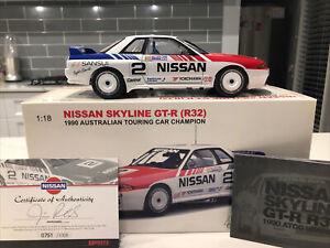 Biante AutoArt 1:18 Nissan Skyline R32 GT-R 1990 ATCC Winner - Jim Richards