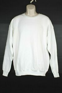 Vintage Lee Sturdy Sweats Womens Sweatshirt Size XL White Crewneck