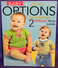 Leisure Arts Baby Options - Knit Fashions for Tots Knitting Pattern Book