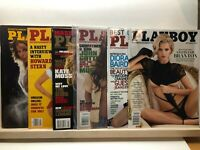 Playboy Magazines Mafia, Mob, Organized Crime Gotti Theme Issues Lot of 6