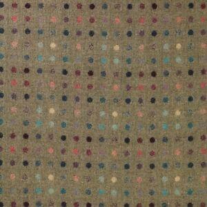 Abraham Moon Multispot Fawn | 100% Wool Polka Dot Fabric Curtains Upholstery