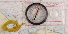 MFH Kartenkompass mit Kunststoffgehäuse Kompass