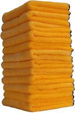 Chemical Guys Mic_506_12 Professional Grade Premium Microfiber Towels, Gold (16
