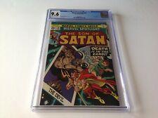 MARVEL SPOTLIGHT 20 CGC 9.6 SON OF SATAN DEVIL TAROT CARD MARVEL COMICS