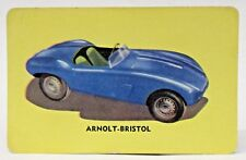 1955 D72 Mothers Cookies ARNOLT BRISTOL #40 sports car trading card - hi grade