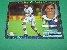 EDMILSON STARS OLYMPIQUE LYON OL GERLAND PANINI FOOT 2003 FOOTBALL 2002-2003
