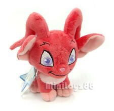 Neopets Series 5 Red Acara Keyquest Unused Code Plush Toy