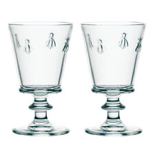 La Rochere Set of 2 Bee Water Glasses, 35cl Drinks Water Decorated Glassware