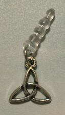 Celtic Knot Cell Phone Dust Plug Antique Silver Charm All Phones Trinity Knot