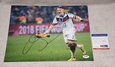 Manchester United Bastain Schweinsteiger Signed 11x14 Photo Psa/Dna Z51312
