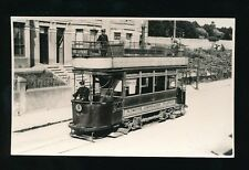 Devon Plymouth TRAM #4 c1930/50s? photograph