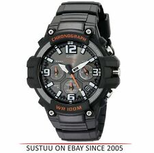 Casio MCW-100H-1AVEF Men Sport Chronograph Watch│Quartz Movement│Timepiece│Black