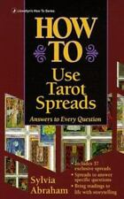 How to: How to Use Tarot Spreads by Sylvia Abraham (2002, Paperback)