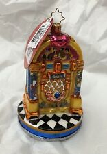 Christopher Radko Beatles Pepperland Yellow Submarine Juke Box Ornament Nwt